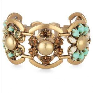 Stella & Dot- Becca mint bracelet
